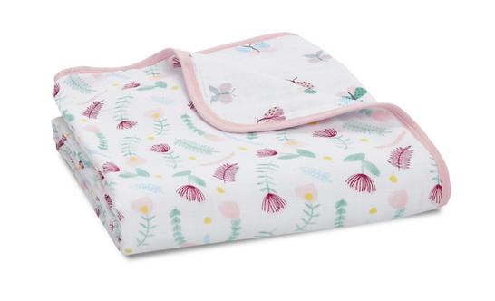 Одеяло из муслинового хлопка Flora fauna - Ditsy floral Aden Anais