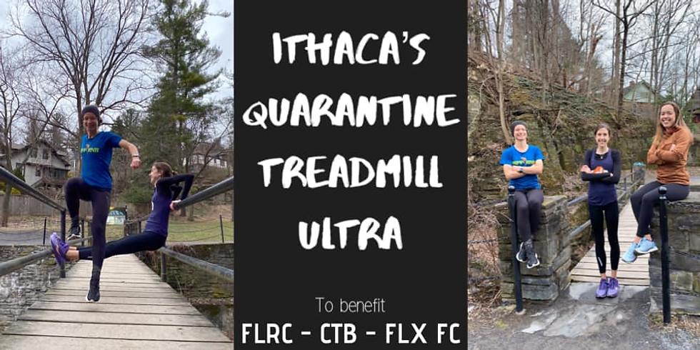 Ithaca's Quarantine Treadmill Ultra!
