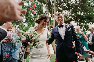 wedding ceremony Palm Beach Sydney NSW