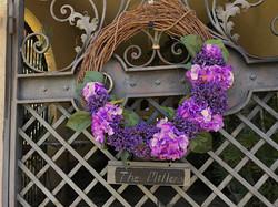 PurpleWreath_CloseupGate