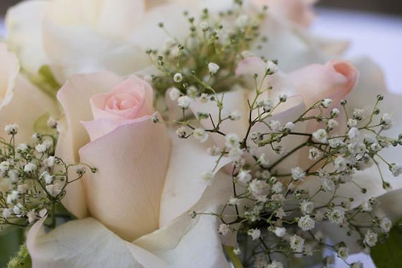 Backyard Wedding Flowers