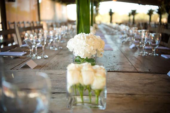 Gruene Estate Wedding Table Decore