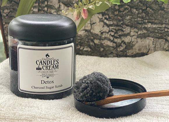 Detox Charcoal Sugar Scrub 8oz