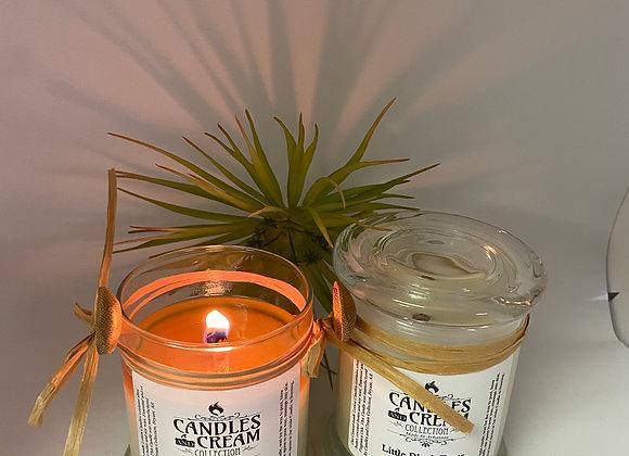 12 oz Lotion Candle Glass Jar &  Lid