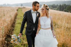Brautpaar - Naturshooting