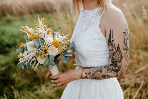 Brautstrauß saisonal