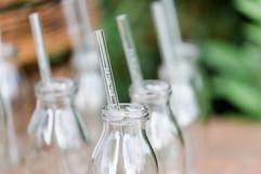 Glasstrohhalme - nachhaltig - wiederverwendbar