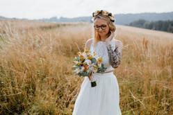 Brautstrauß & Flowercrown