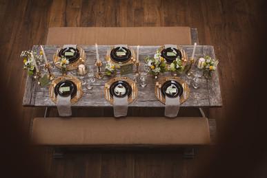 nachhaltige Tischdekoration