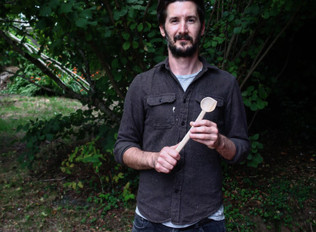 Why I started making spoons and how I do it.