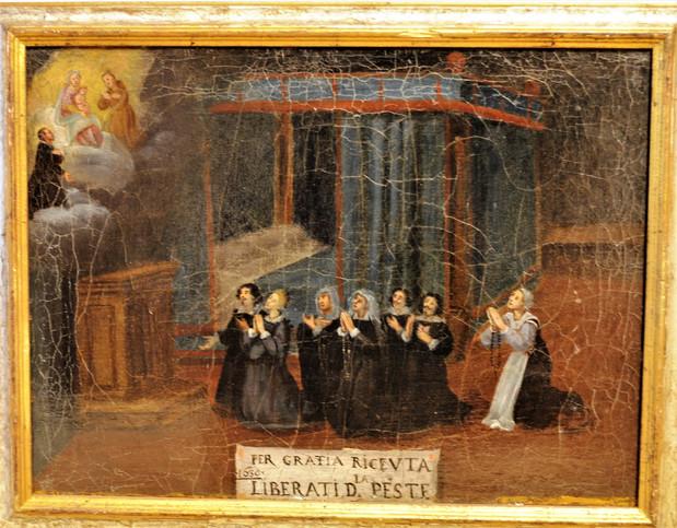 XVII secolo, Italia (Lombardia), olio su tavola. Collezione privata.