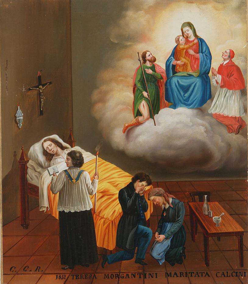 1852, Italia (Piemonte), olio su tela. Fondazione P.G.R.
