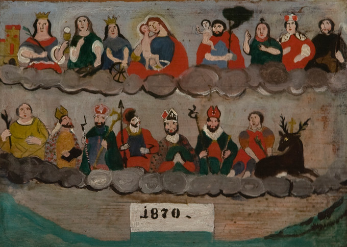 1870,Germania (Baviera?), olio su tavola. Fondazione P.G.R.