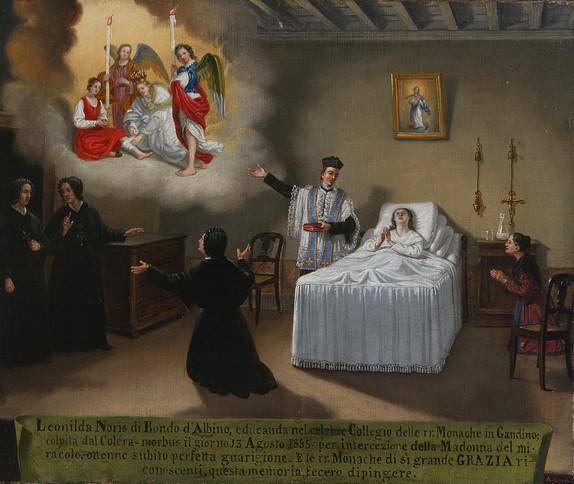 Angelo Ceroni, 1855, Italia (Lombardia), olio su tela. Fondazione P.G.R.