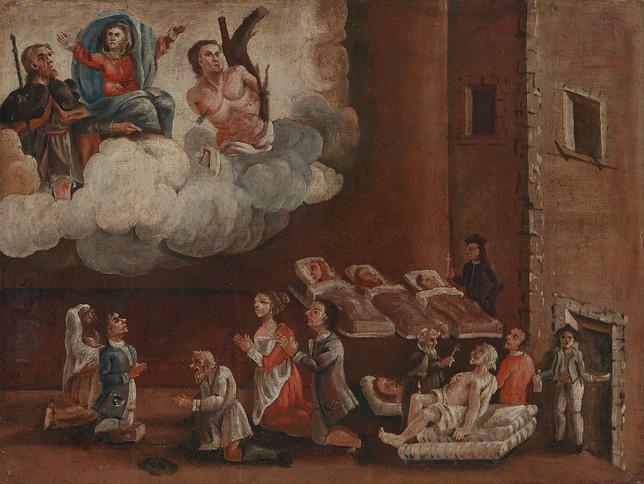 XVII secolo, Italia (Piemonte), olio su tela. Fondazione P.G.R.