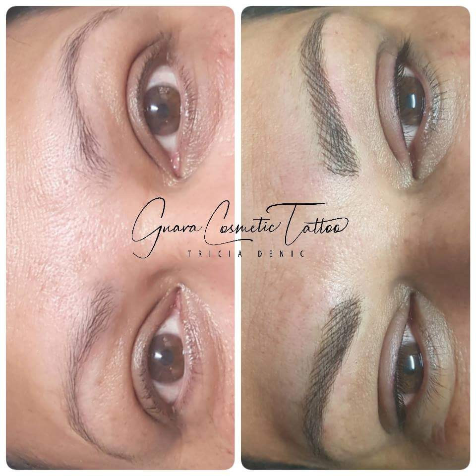 Loose Feathered Brow
