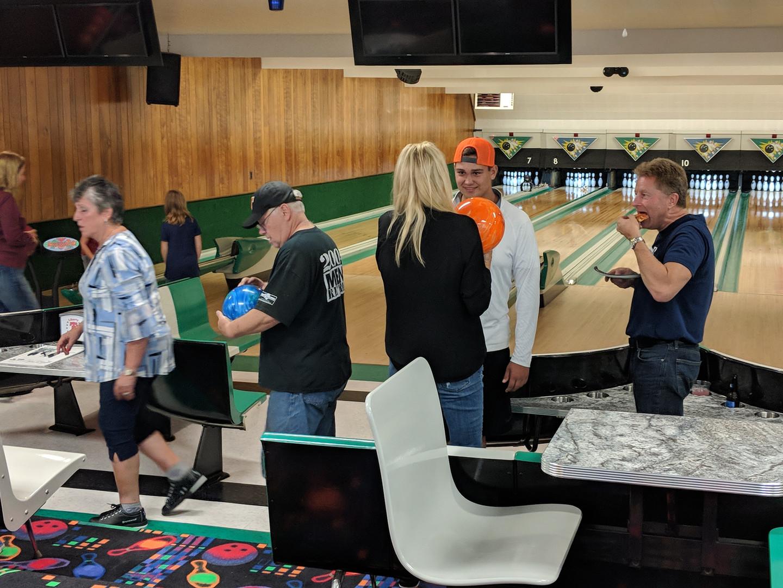 Bowling at the Lanes!