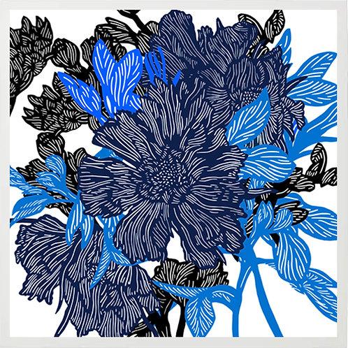 BLUE FLOWER BUNCH 1