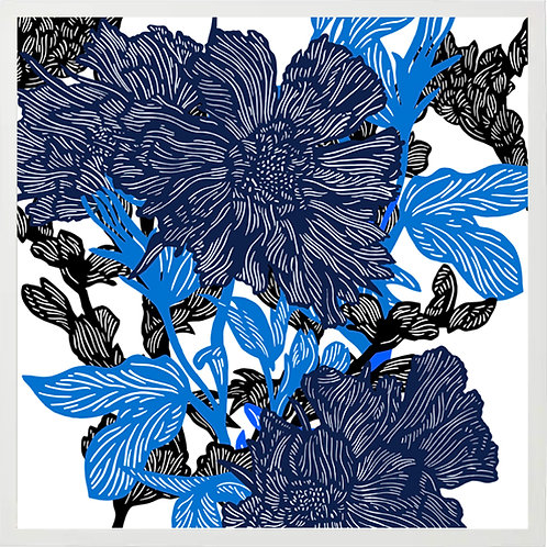 BLUE FLOWER BUNCH 2