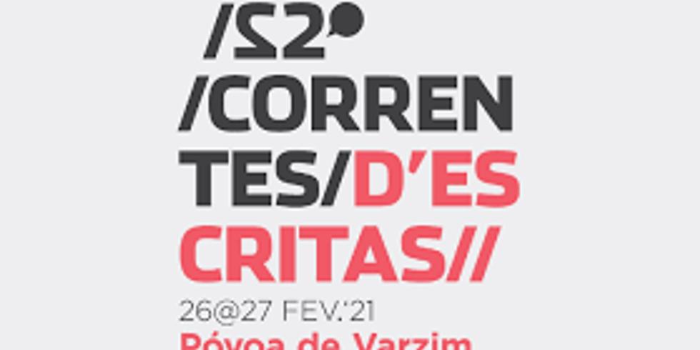 Correntes d'escritas 2021 - 22º edição