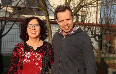 Sanja Rozman in Sebastjan Kovačič