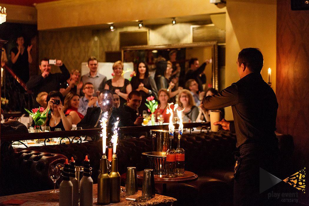 бармен шоу Калининград