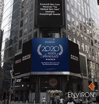 environ lights up time square