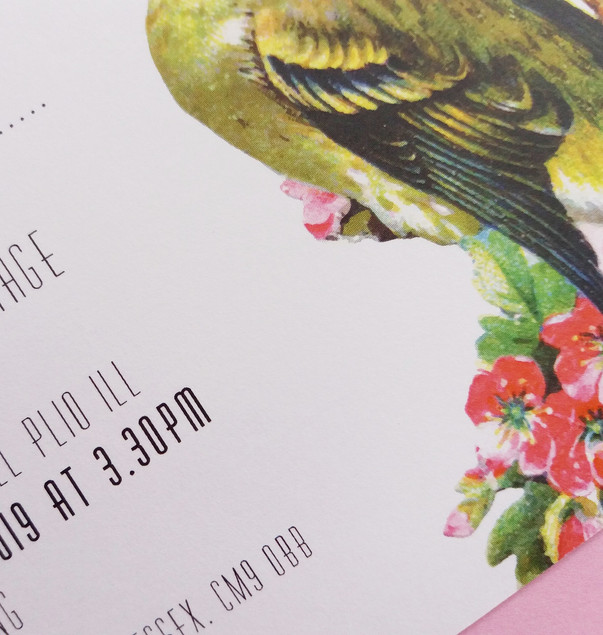 TWEET - invitation detail