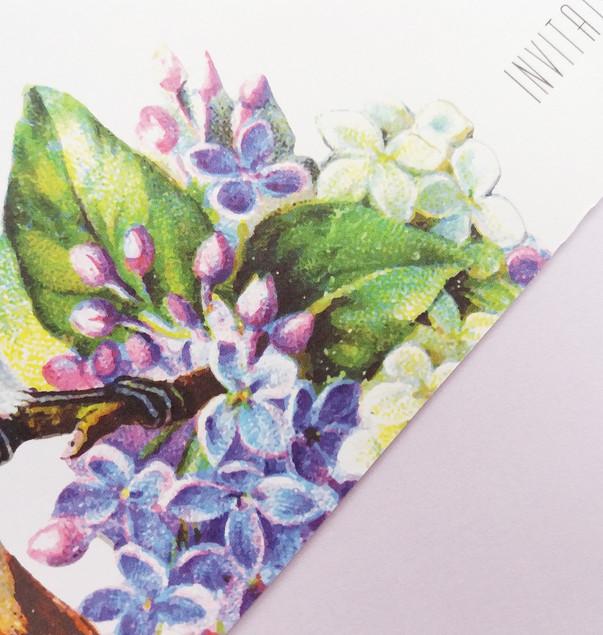 TWEET - floral detail