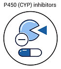 p450 cyp inhibitors icon
