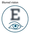 blurred vision icon