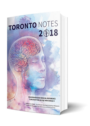 Toronto Notes 2018 Cover Illustration