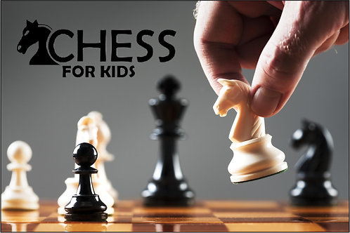 CHESS FALL SEASON WEDNESDAY Beginners   (Tournaments not included)