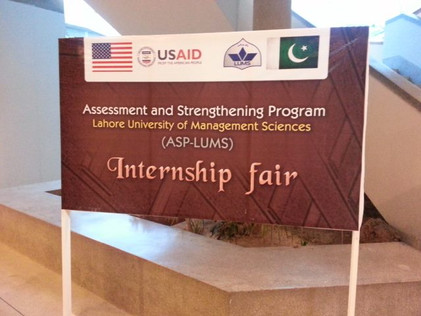 ASP LUMS Internship Fair 2014