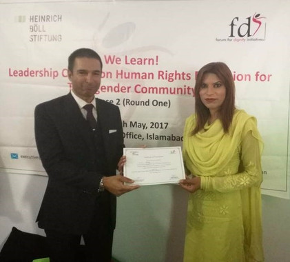We Learn! Leadership course on human rights education for transgender community members- Phase 2, Ro