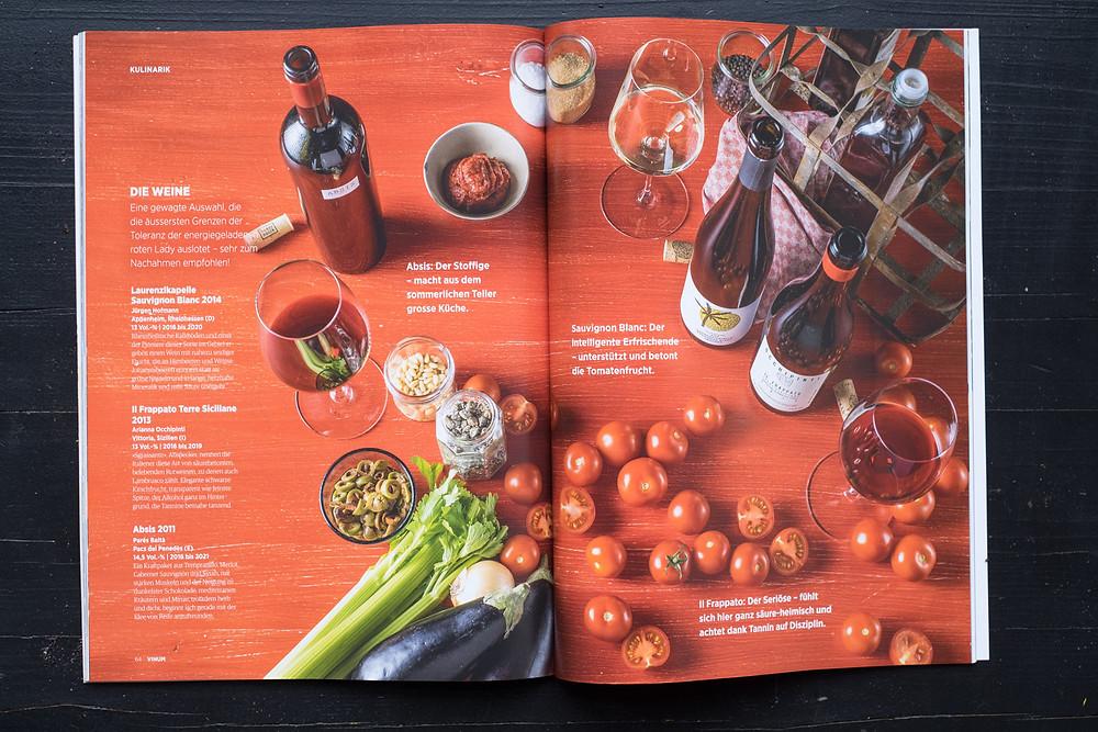 Sommer Foto Produktion für Vinum