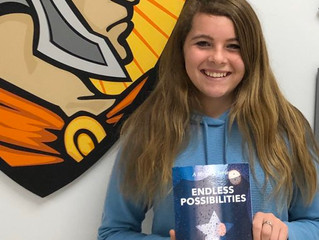 Sophomore Publishes Book
