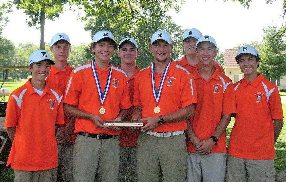 2018 Boys Golf Team at Praireland Conference