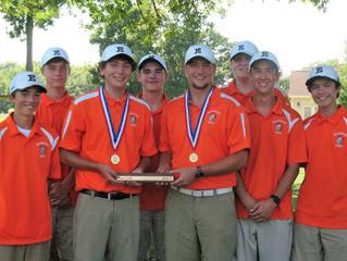 Elmwood Boys Golf Win Prairieland Conference