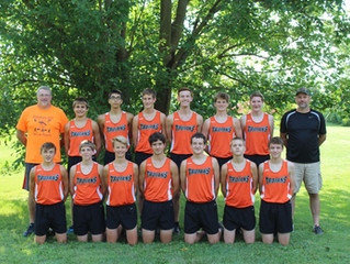 Cross Country Boys Take State!
