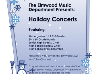 2020 Holiday Concerts