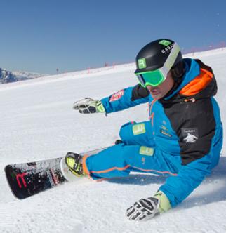 Snowboard Ausrüstung am Kronplatz