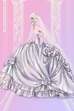 Luxury Bridal Gown Design