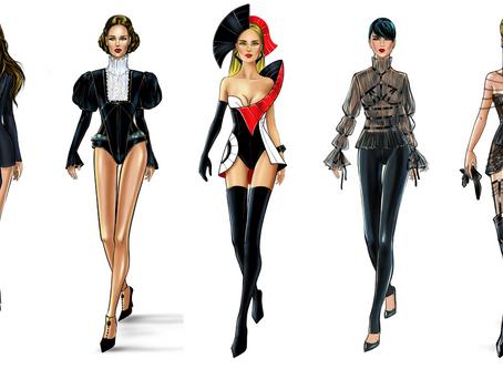 Revolutionary Fashion Sketchbook Series for Fashion Designers