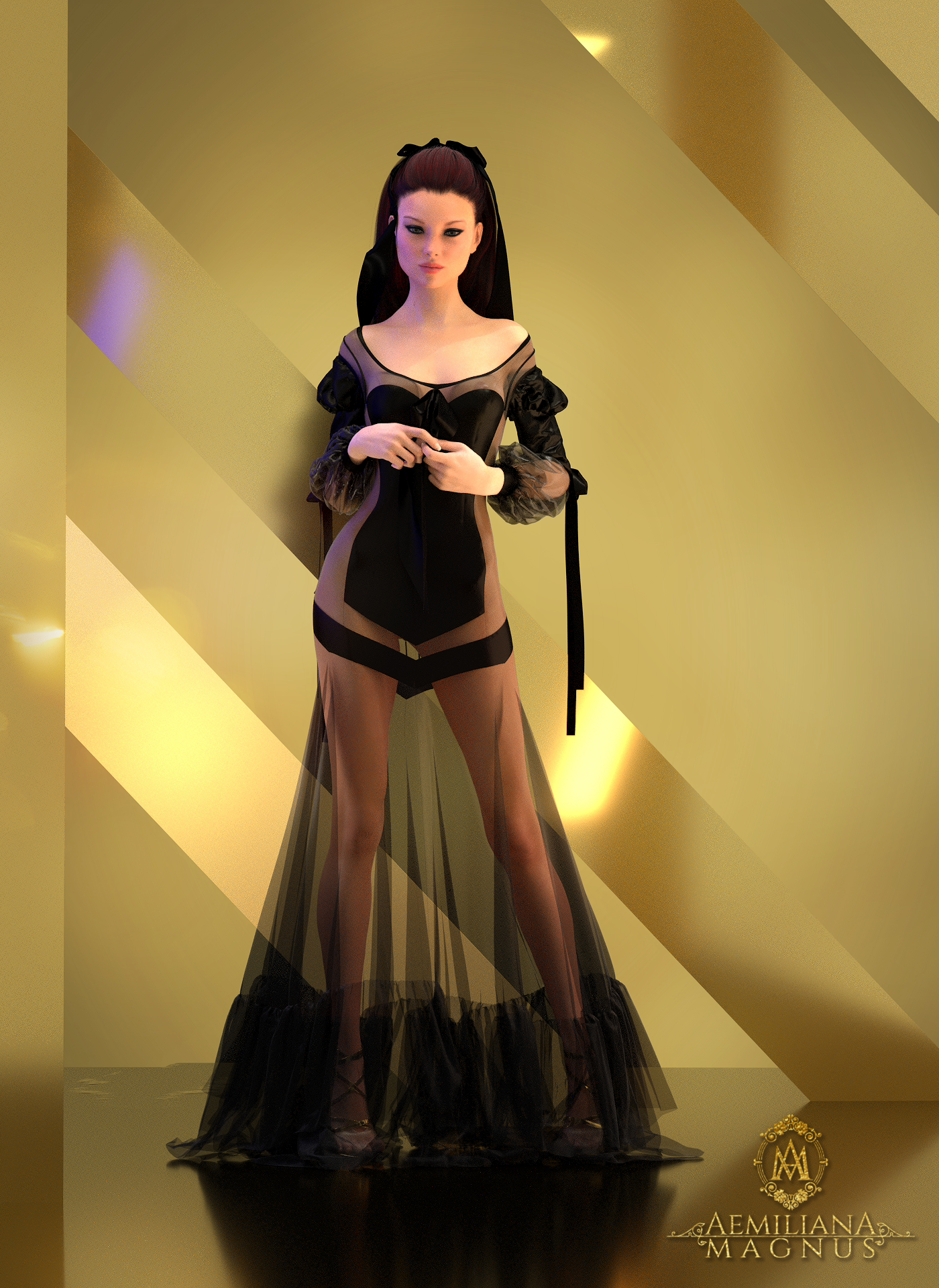 Couture Dress by Aemiliana Magnus