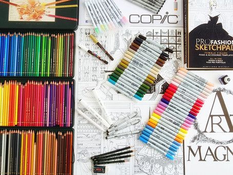 My Favorite Art Tools To Create Fashion Illustrations Sketches