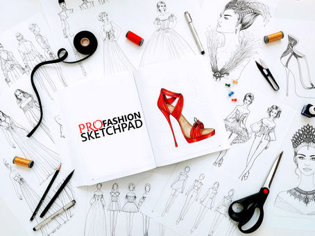 Revolutionize your design work flow with Pro Fashion Sketchpad Series.
