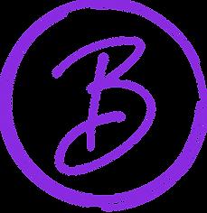 Blissful Beauty submark -  bright purple