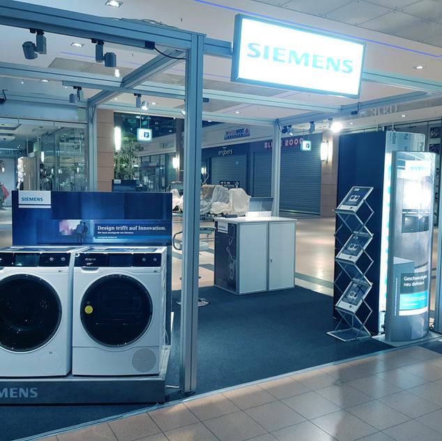 Siemens Maschinen Innovations-Ausstellungsfläche