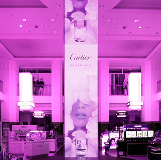 Cartier Aktionsfläche II Indoor